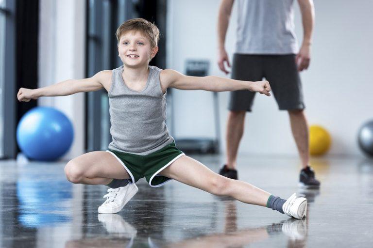 אימון כושר גופני לילדים