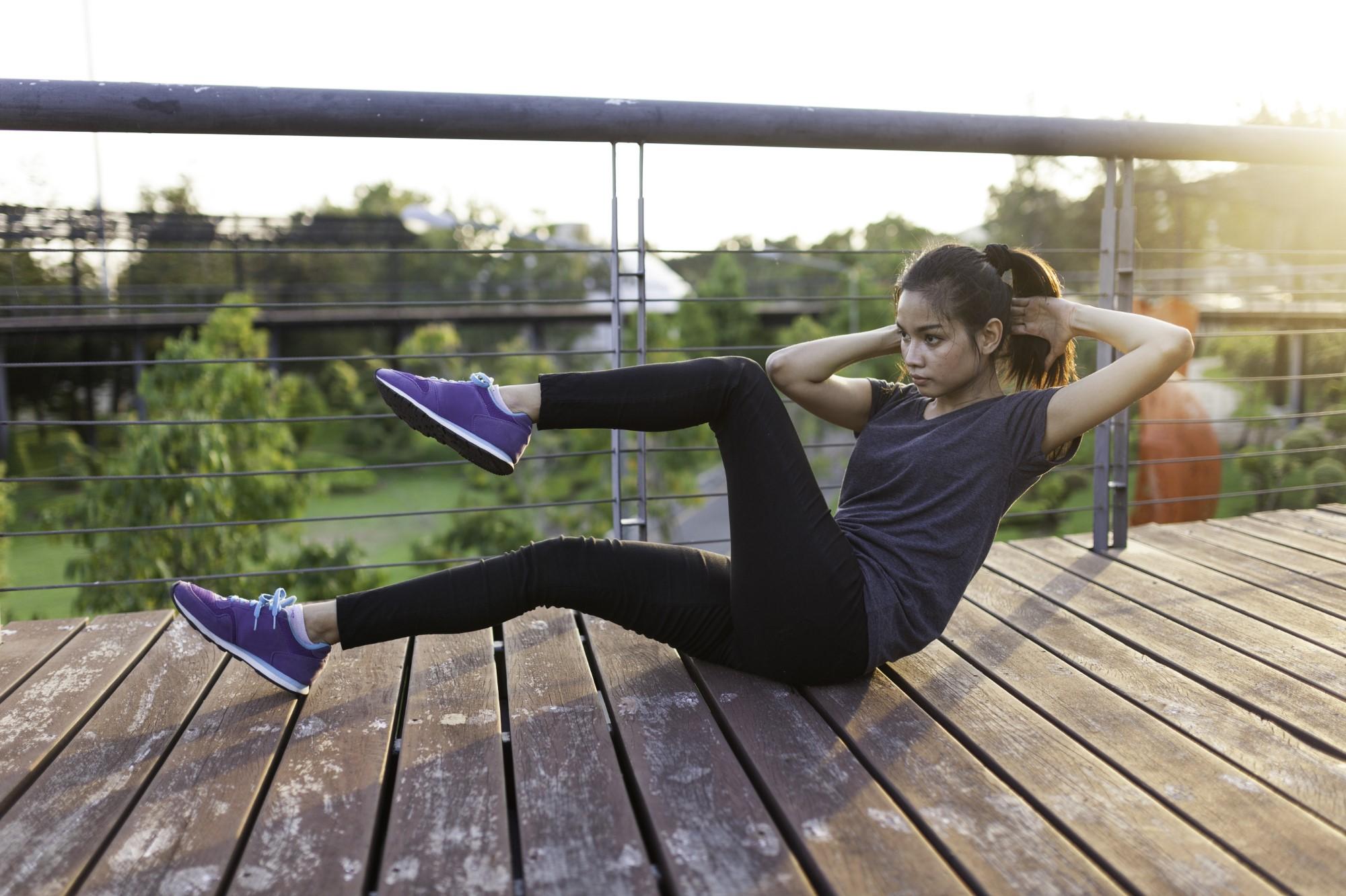 מחקר תרגילים יעילים לבטן